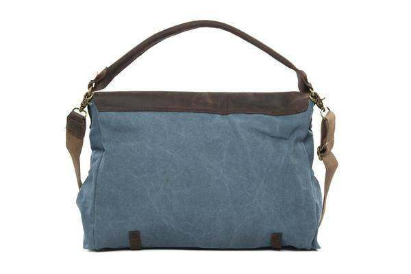 On Sale, Fashion Canvas With Leather Shopping Bag, Messenger Bag, Leather Briefc image 3