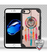 For APPLE iPhone 8/7 Dreamcatcher/Black FreeStyle Challenger Hybrid Case... - $11.39