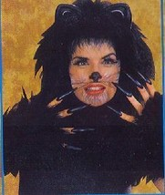 CAT HEADPIECE & MITTS GREAT FOR CATS LOOK BLACK - $27.00