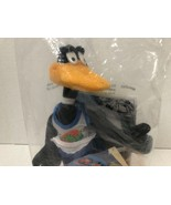 Daffy Duck 1996 Warner Brothers Looney Tunes Space Jam Plush Toy Collect... - $14.62