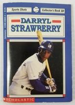 N) Darryl Strawberry Scholastic Sports Shots Collector's Book #10 MLB Ba... - $3.95