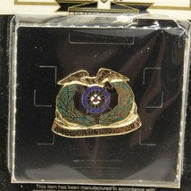 US Army Corps Crest Quartermaster Supporting VIctory Pin Sealed - $17.64
