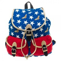 WONDER WOMAN DC Comics School Bag Backpack. Licensed USA Product - $46.75 CAD