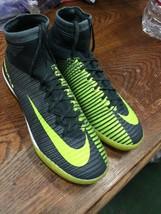 Nike IX Mercurial II CR7 IC Indoor Court Gray Ronaldo Shoes Green Size  ... - $163.63