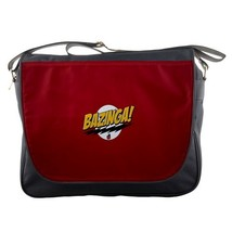 Messenger Bag Bazinga The Big Bang Theory Logo Magical Word For Anime G... - $30.00