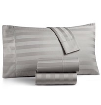 Pair of Charter Club Damask Solid King 500 Thread Count Pillowcases Dove... - $21.49