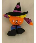 "Russ Pumpkin Plush Witch Hat 6""  Stuffed Animal Toy - $7.15"