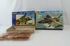 Revell F-105D Thunderbird Mil Mi-28 Havoc 1/72 Model Kits Complete Unbuilt - $38.52