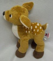 "GANZ Webkinz CUTE SOFT FAWN DEER 9"" Plush Stuffed Animal - $15.35"