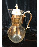VINTAGE CORNING HEAT PROOF GLASS COFFEE POT CARAFE PITCHER  - $12.00