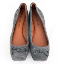 Ballet Flat Gray Suede Shoe 6.5 Lucky Brand  Sandriana  EU 37 - $33.85