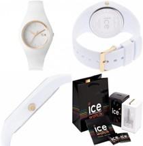 Ice-Watch - ICE glam White Montre blanche pour femme avec bracelet en si... - £89.13 GBP