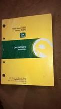 JD John Deere 1560 / 1565  Grain Drills Operators Manual OMN200717 D9 - $22.50