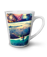 UFO Invasion Relax NEW White Tea Coffee Latte Mug 12 17 oz | Wellcoda - $16.99+