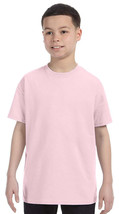 Jerzees Youth Heavyweight T-Shirt - 29B - Classic Pink - $2.91