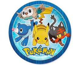 American Greetings Pokemon Paper Dinner Plates for Kids (8-Count) - $3.55