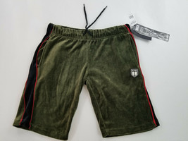 new Brooklyn Express men shorts sweatshorts BX7133CS green olive L MSRP - $20.98