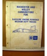 GM 1983 Rochester and Holley Carburetors Gasoline Powered Medium Duty Tr... - $8.99