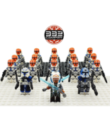 18pcs/set Star Wars Ahsoka Tano Rex The 332nd Company Clone Troopers Min... - $28.99