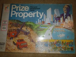 Prize Property Vintage 1974 Milton Bradley Real Estate Board Game 4408 - $46.74