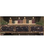 6' Twig Lighted Garland 96 ct brown branches floral mantels Holiday Decor - $49.49