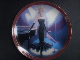Danbury Mint High Fashion Barbie Solo in the Spotlight Plate, no box, no... - $8.99