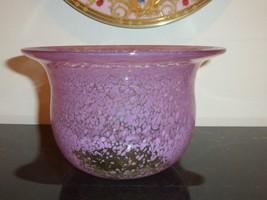 Kosta Boda Vintage Ulrica Hydman Vallien Pink Bowl #57868 - $59.00