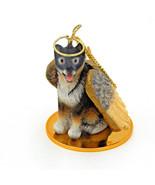 Alaskan Malamute Dog Figurine Tiny Ones Christmas Holiday Ornament Minia... - $11.99