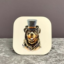 Rottweiler Coaster,Gifts For Dog Lovers,Mothers Day Gifts,Rottweiler,Dog,Gifts - $6.80