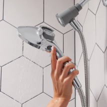 Six-Function 5.5-Inch Handheld Showerhead - $59.28