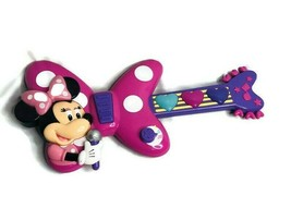 Disney Minnie Mouse Bow-tique Rockin Guitar Music Light-up Sound Effects... - $13.98