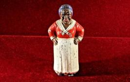 Black Americana   Hubley Bank Maid Cast Iron Antqiue - $75.00