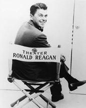 Ronald Reagan In Director'S Chair Rare 16x20 Canvas Giclee - $69.99