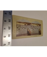 Home Treasure Chile Dry Docks Stereoview Card Jamaica Brookline St Port ... - $23.74