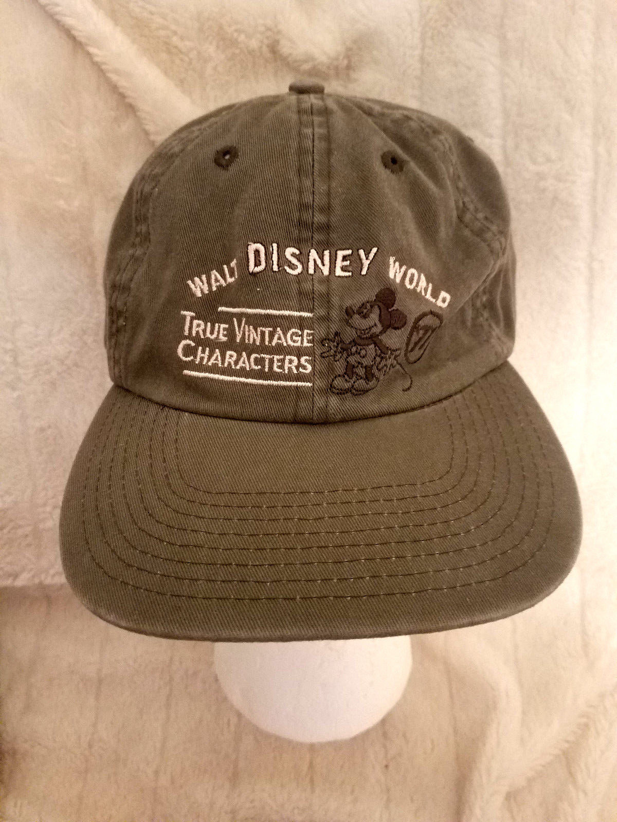 a8c28deb1e2 57. 57. Previous. Walt Disney World True Vintage Characters Mickey 71  Embroidered Baseball Cap Hat
