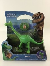 Good Dinosaur Arlo Poseable Dino Figure with Critter Disney Pixar New Se... - $49.45
