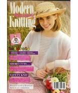 Modern Machine Knitting Aug 1993 Magazine Super Mario Brothers MARIO Design - $39.99