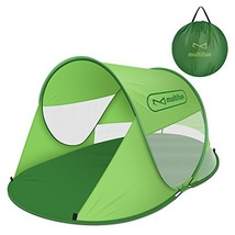 multifun UPF 50+ Easy Pop Up Beach Tent, Large 3-4 Person Sun Shelter, I... - $45.91