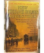 THE MAMMOTH BOOK OF NEW SHERLOCK HOLMES ADVENTURES (1997) Carroll & Graf SC - $9.89
