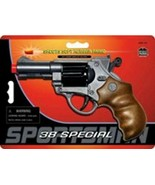 38 Special 6 Shot Rubber Ammo Pistol Toy Gun New Free Shipping Parris Mfg. - $16.62