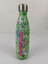 """Lilly Pulitzer x Starbucks Swell Water Bottle Twist Top 17 Oz """"In The Groves"""" - $19.95"""