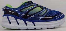 Hoka One One Conquest 2 Men's Running Shoes Sz US 9.5 M (D) EU 43 1/3 Blue Green