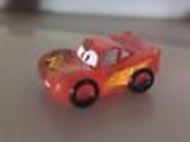 Ooshies Disney Pixar Cars Series 1 Pencil Topper - Translucent Lightning... - $2.97