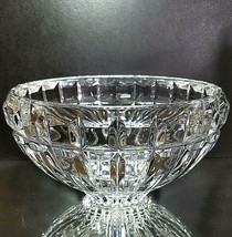 "1 (One) MIKASA REFLECTIONS Heavy Cut Lead Crystal Bowl 7"" DISCONTINUED - $20.89"
