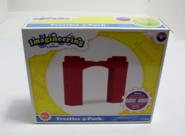 Lionel Imagineering Trestles 4 Pack Accessory Little Lines 7-11628 - $7.99