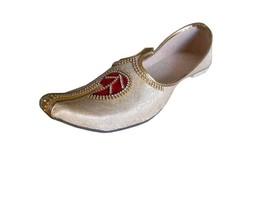 Handmade 12 6 Shoes flops Men Juti US Khussa Loafers Wedding Flip Traditional 4vqPwxgd4