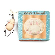Bunnies By The Bay Who's A Bunny Soft Book - $79.42