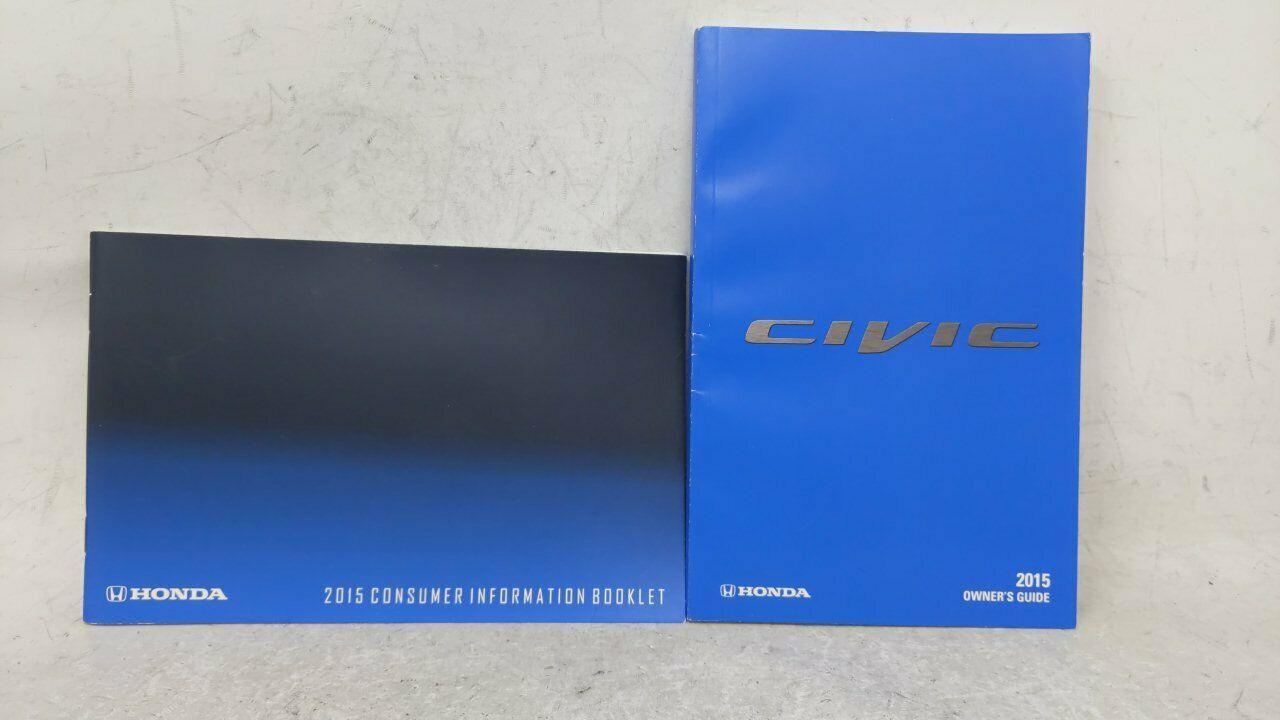 2015 Honda Civic Owners Manual 52750 Manual Guide