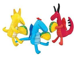 MerryMakers Dragons Love Tacos Mini Doll Set, Set of 3, 4.5 to 5.5-Inche... - $24.73