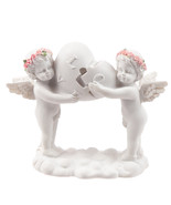 Rose Cherubs - Love Heart Puzzle Gift Present Collectable - $16.58